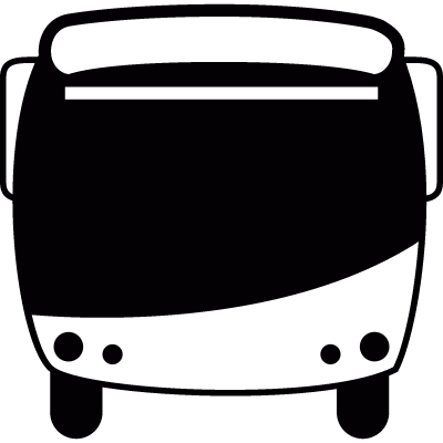 Modern bus vector logo
