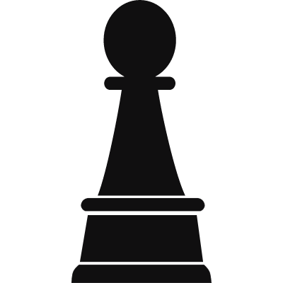 Chess Pawn vector logo