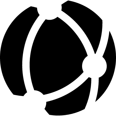 Network connection logo