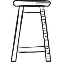 Big Stool vector