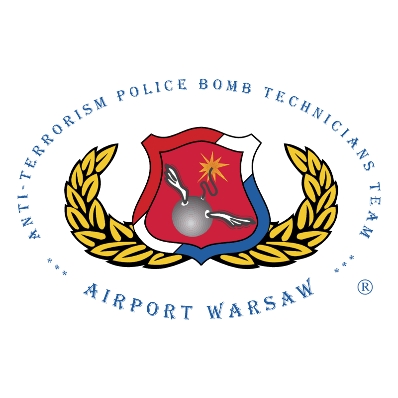 Anti Terrorism Police Bomb Technicians Team vector