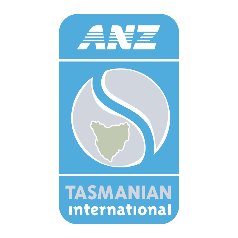 ANZ Tasmanian International vector logo