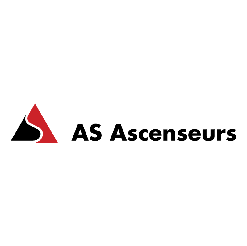 AS Ascenseurs vector logo