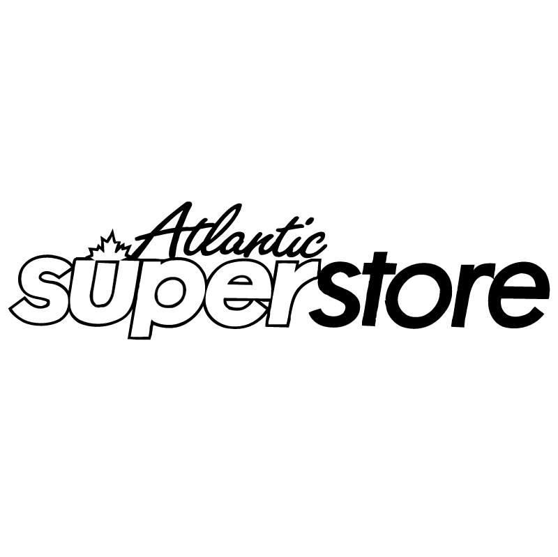 Atlantic Super Store vector