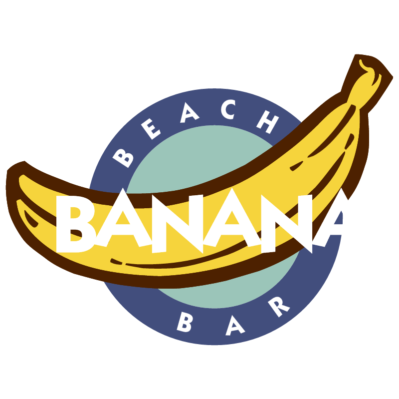 Banana Beach Bar vector