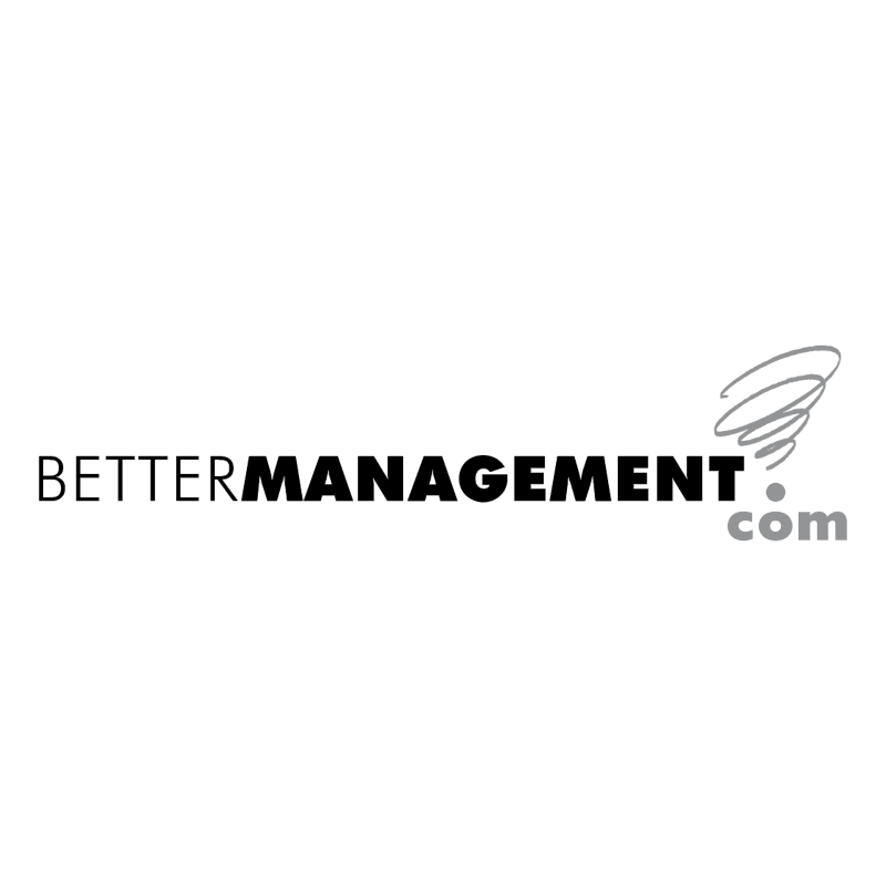 BetterManagement com vector logo