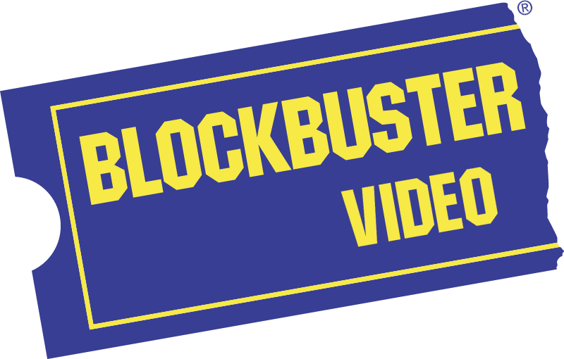 Blockbuster vector logo