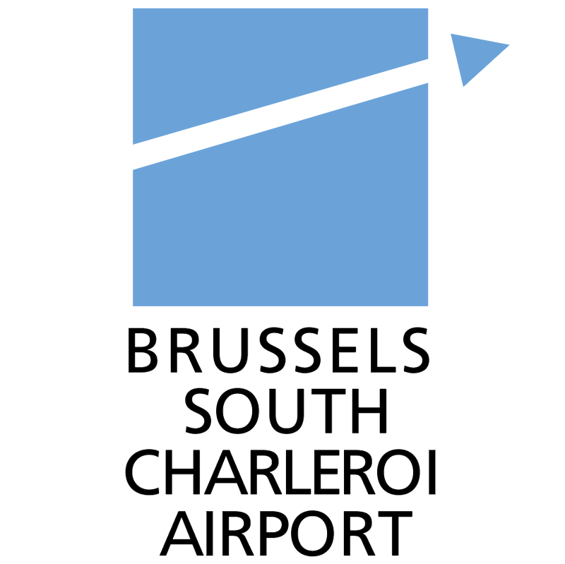 Brussels South Charleroi Airport vector