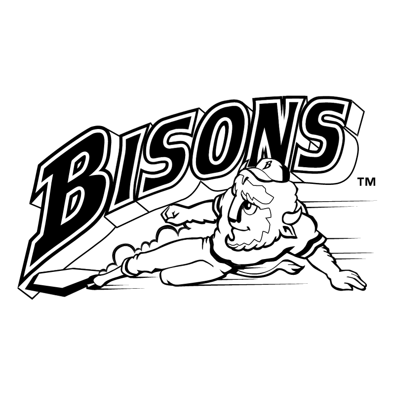 Buffalo Bisons 57968 vector