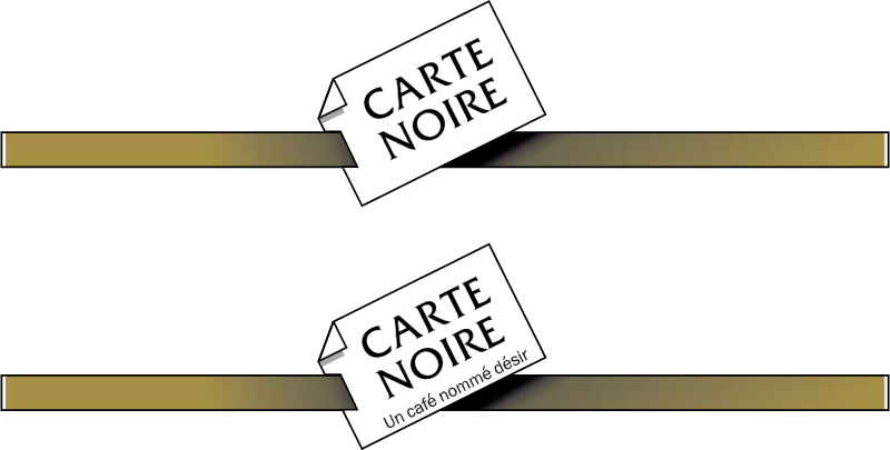 Carte Noire coffee vector