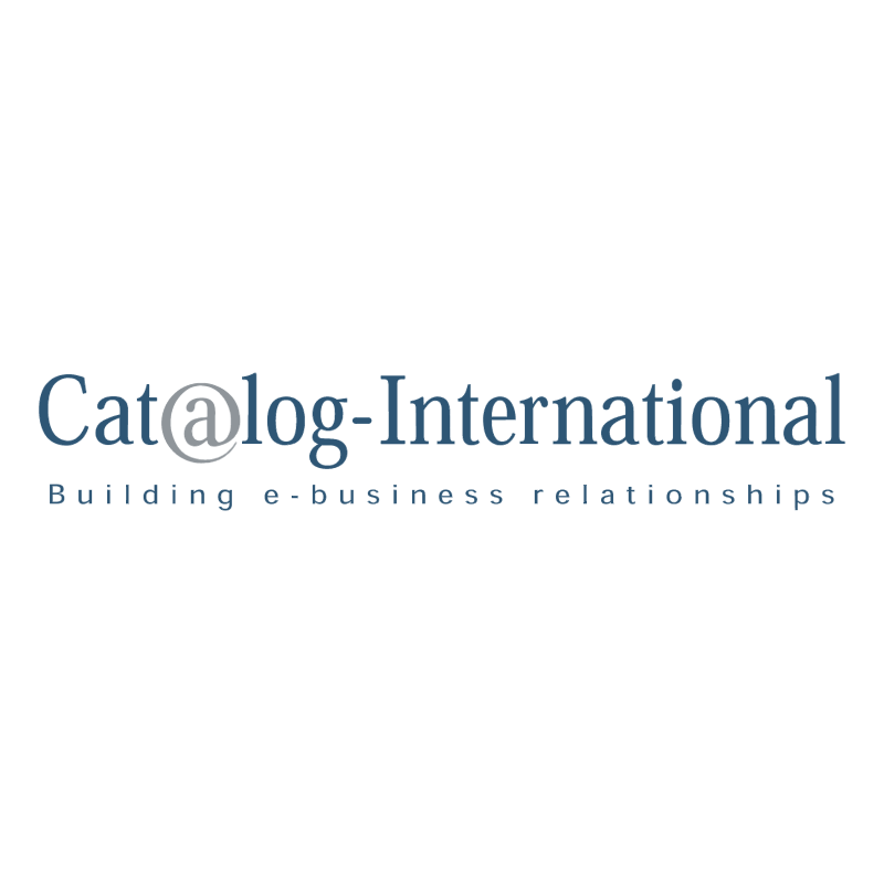 Cat log International vector