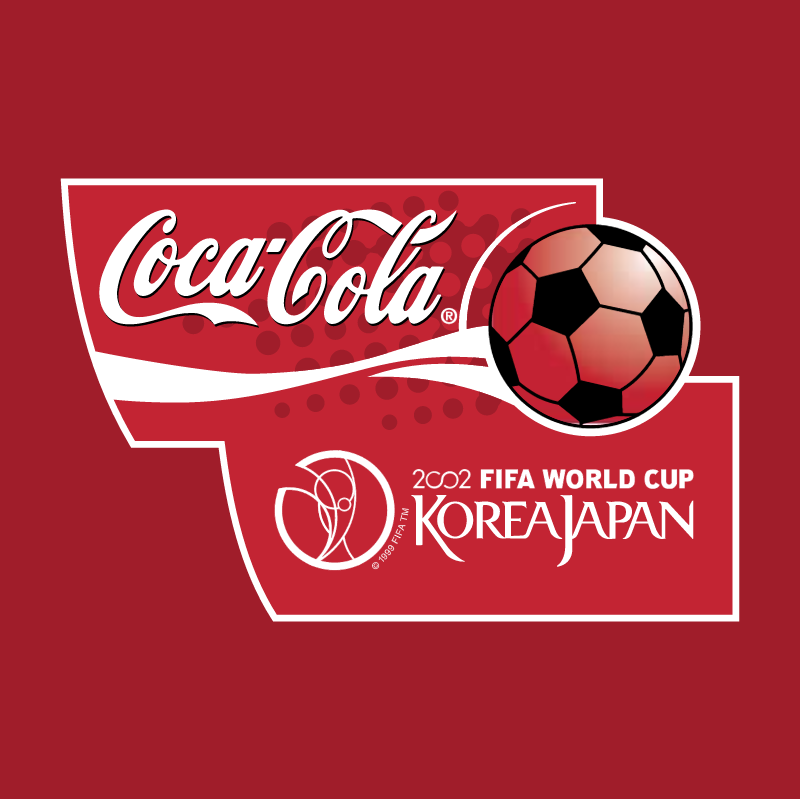 Coca Cola 2002 FIFA World Cup vector