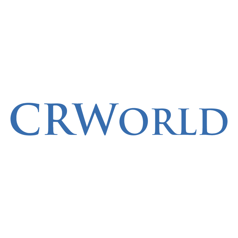 CRWorld vector logo
