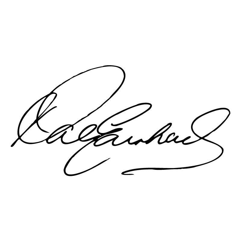 Dale Earnhardt Signature vector