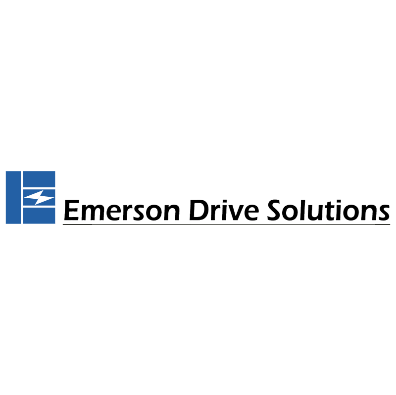 Emerson Drive Solutions vector