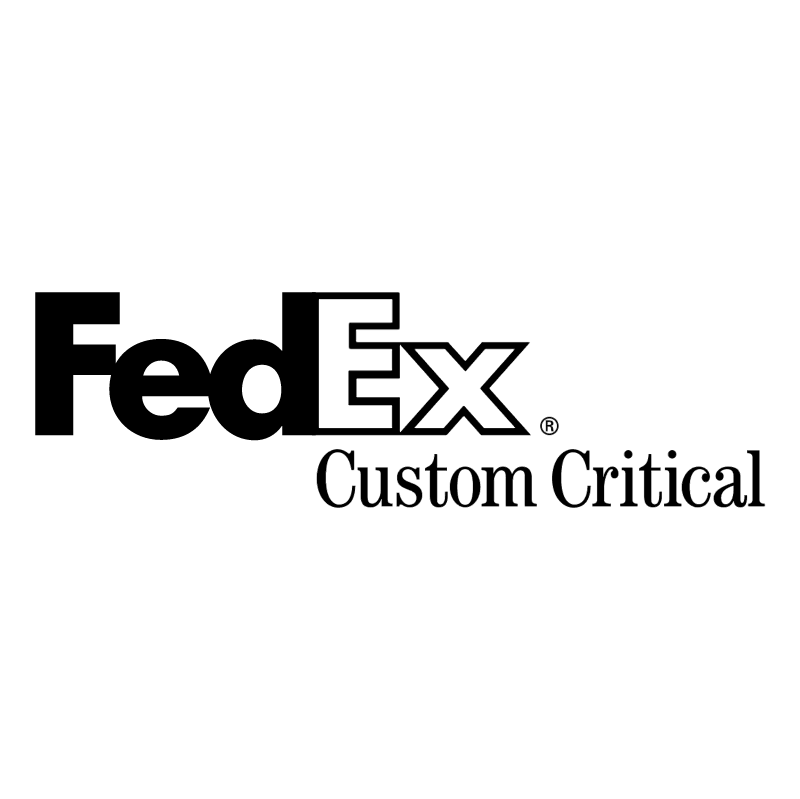 FedEx Custom Critical vector
