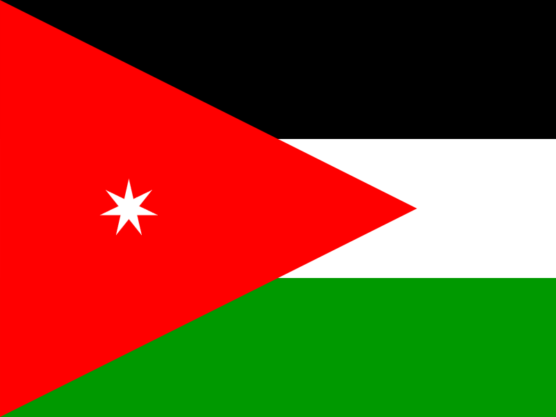 Flag of Jordan logo