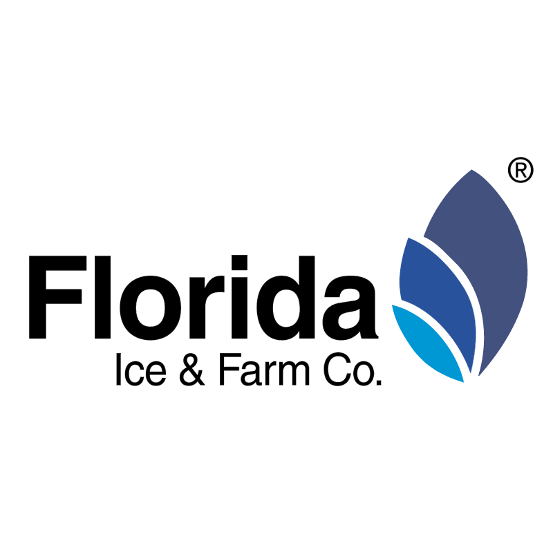Florida Ice & Farm Co vector