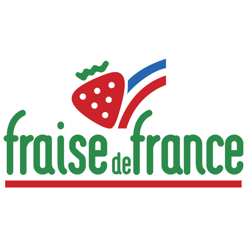 Fraise de France vector logo