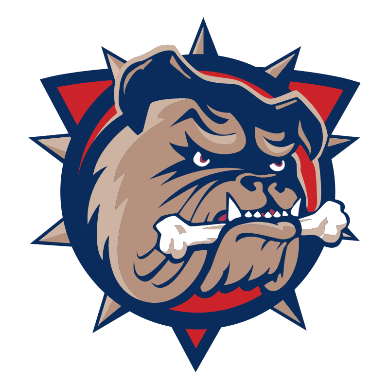 Hamilton Bulldogs vector