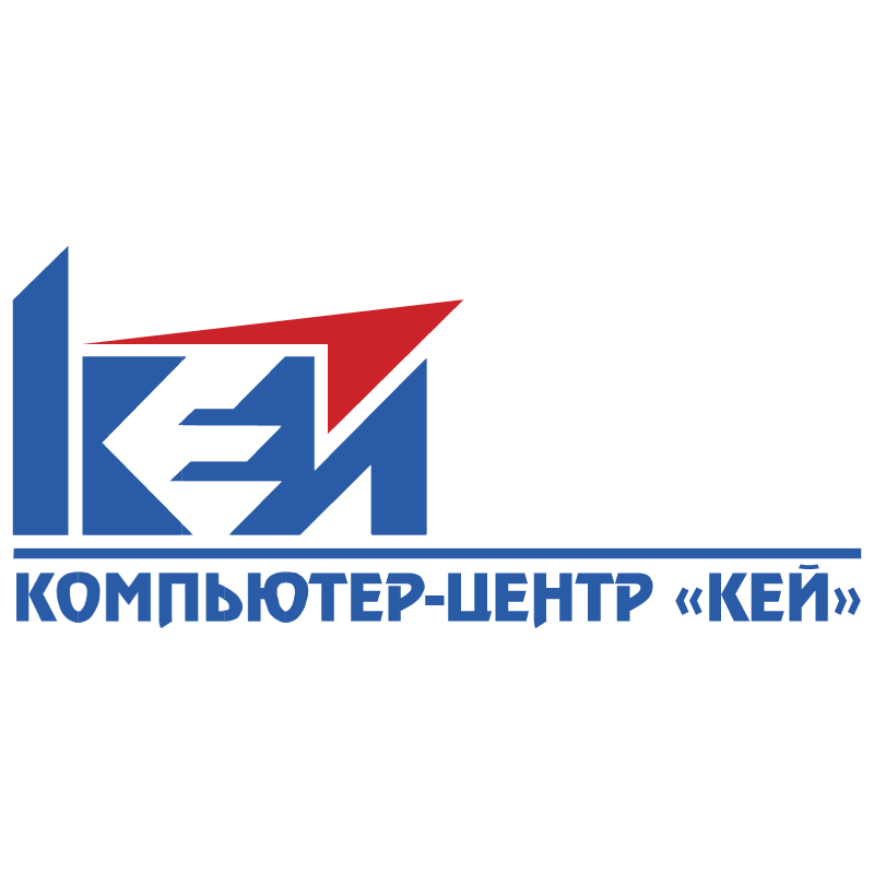 Key Computer Center vector logo