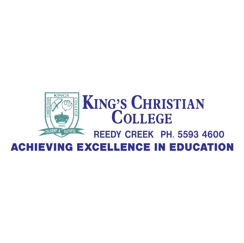 King's Christian College vector logo