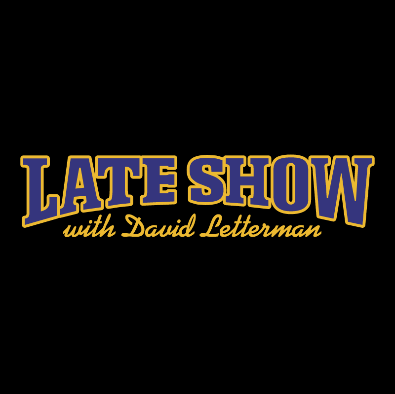 Late Show vector logo