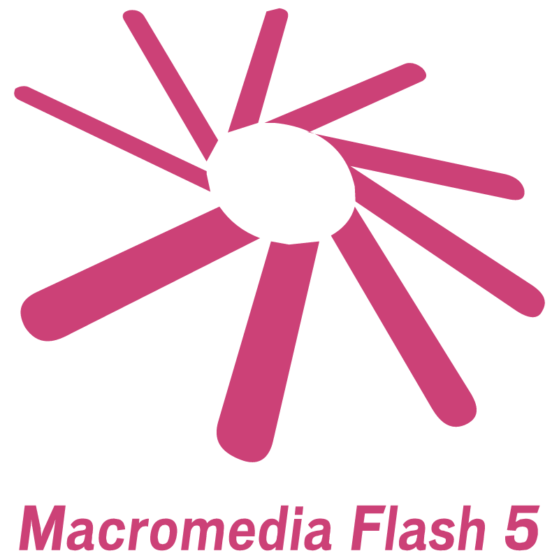 Macromedia Flash 5 logo
