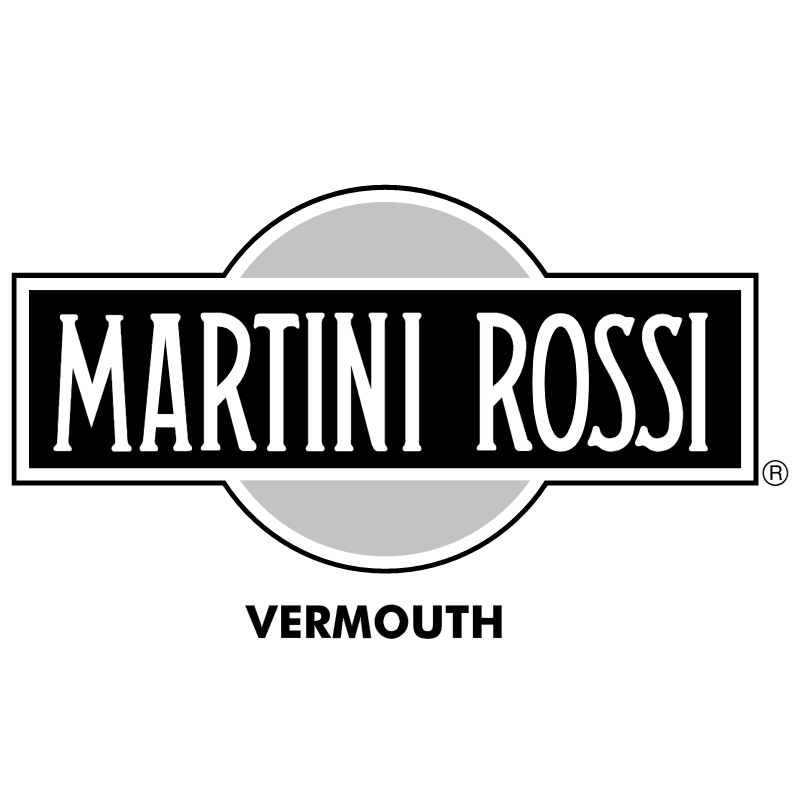Martini Rossi vector