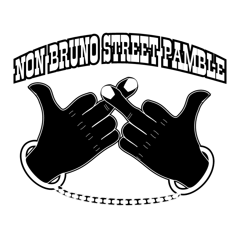 Non bruno street pamble vector
