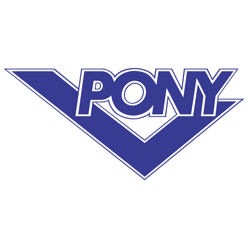 Pony vector logo