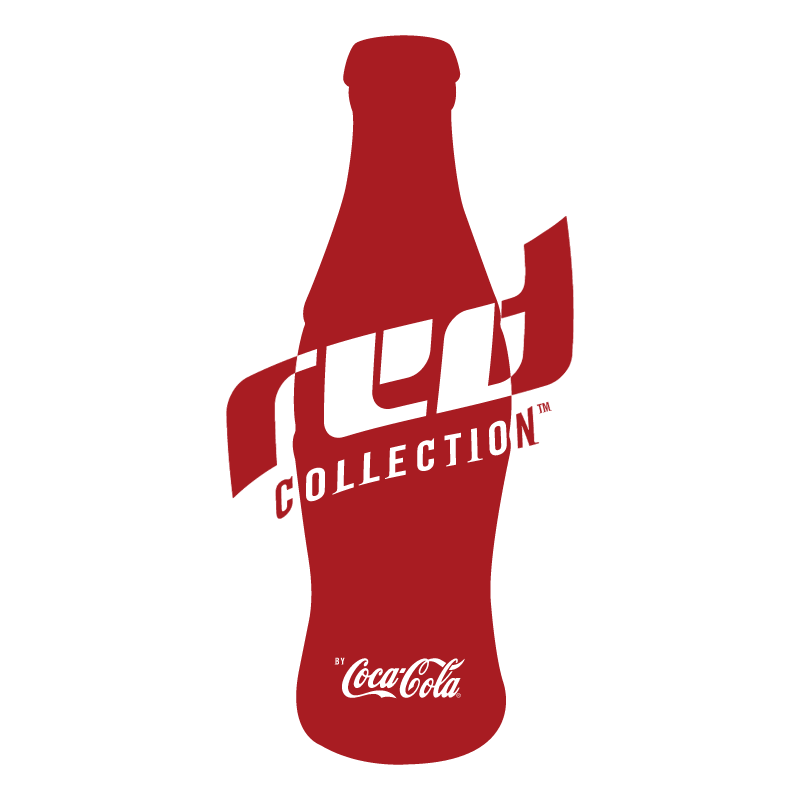 Red Collection vector logo