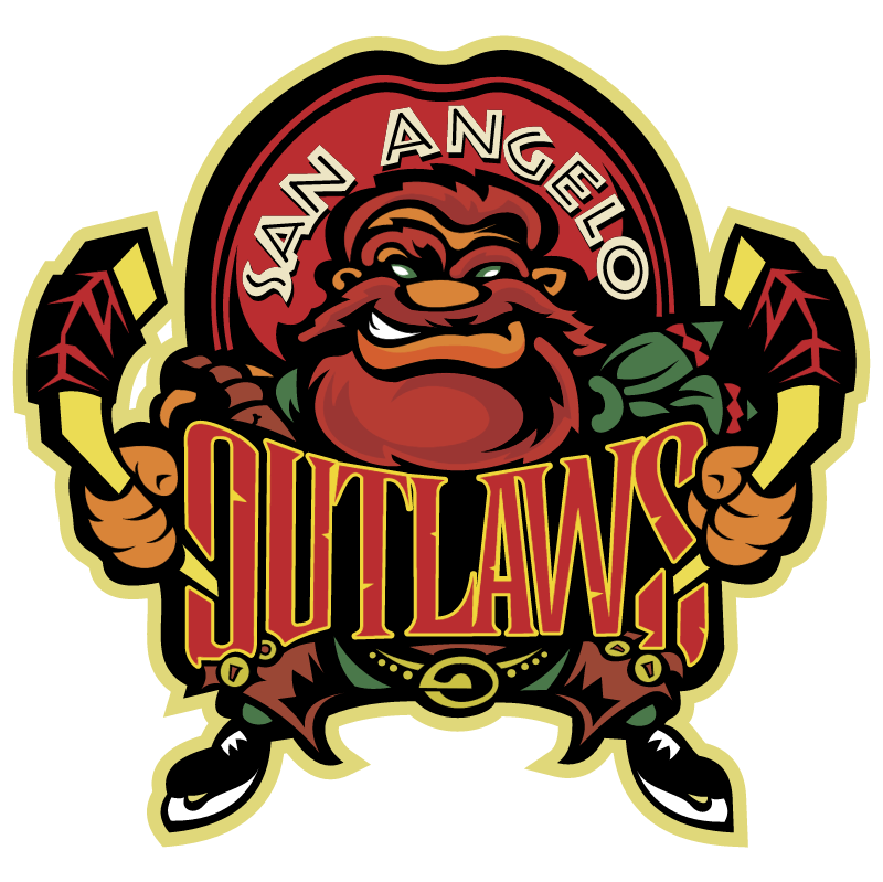 San Angelo Outlaws vector