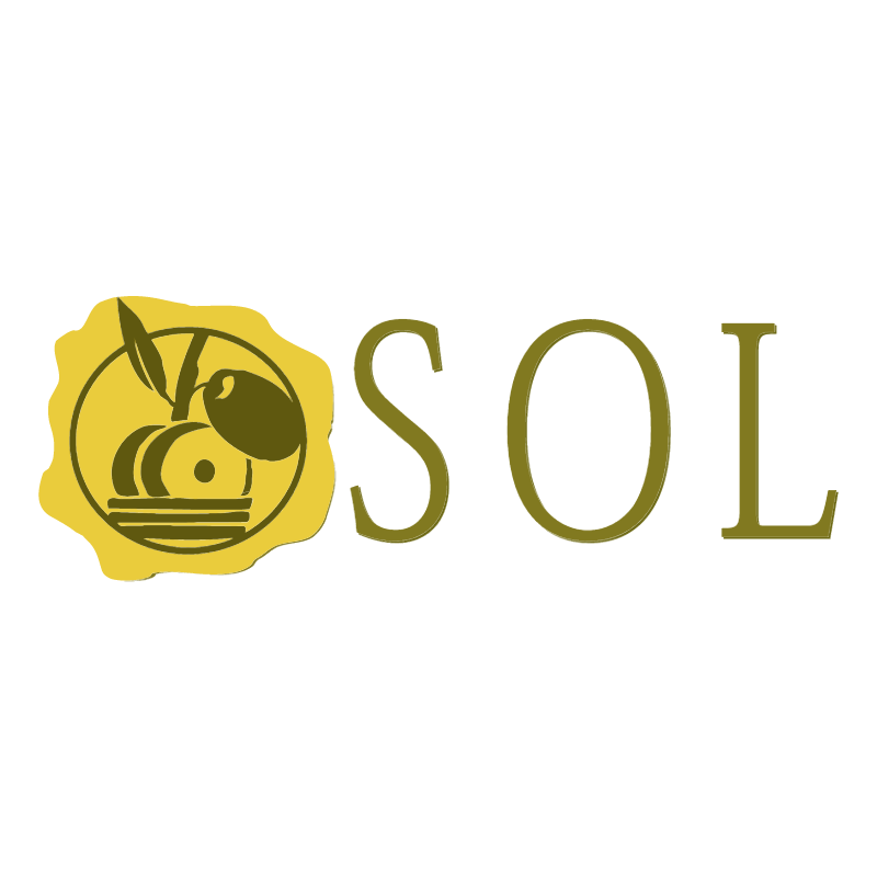 SOL food oil saloon logo