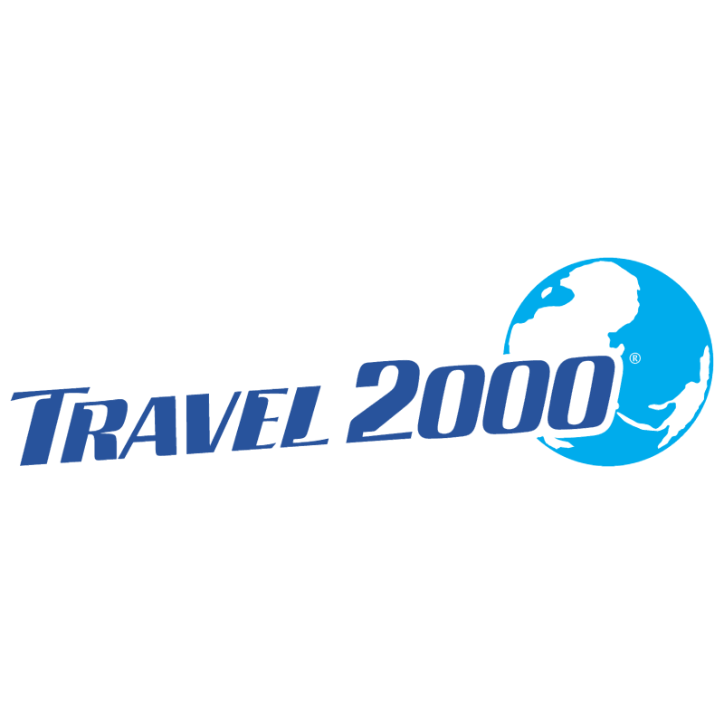 Travel 2000 vector logo