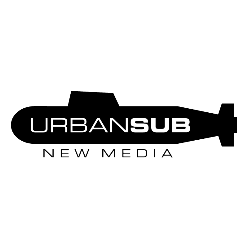 Urban Sub New Media vector
