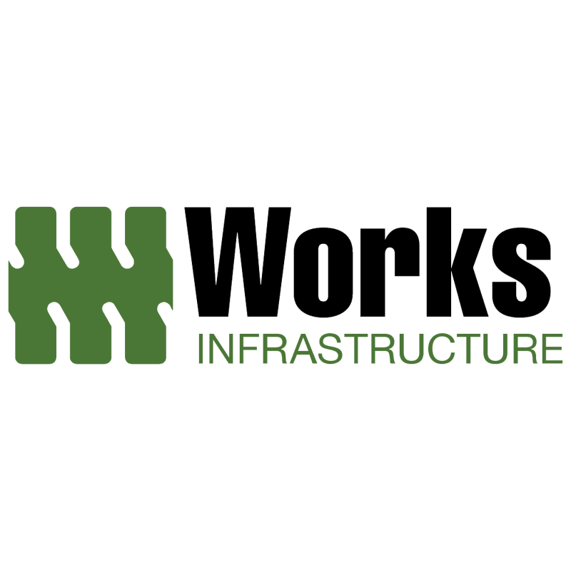 Works Infrastructure vector