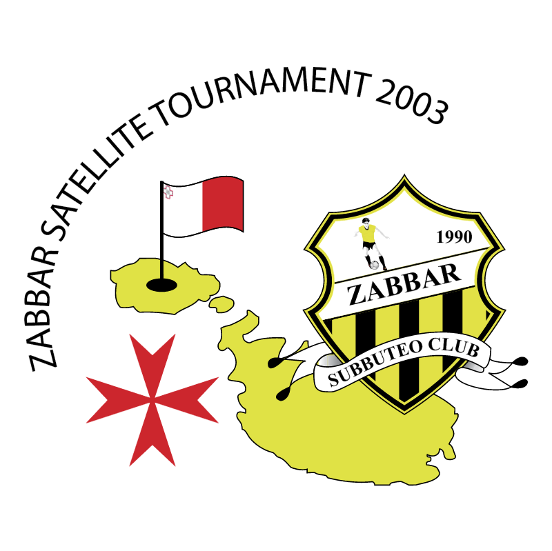 Zabbar Satellite Tournament 2003 vector logo