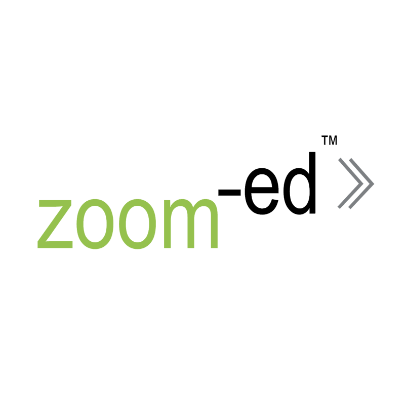 Zoom ed vector logo