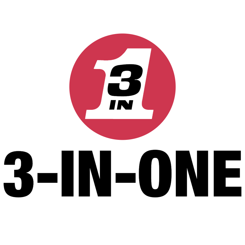 3 In One logo