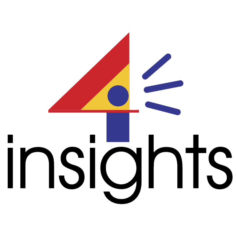 4 insights vector logo