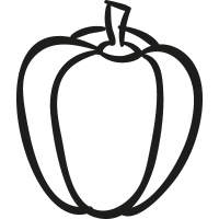 Garden Pepper vector