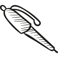 Pen for Signature vector