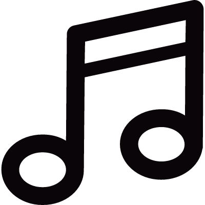 Note music sound logo