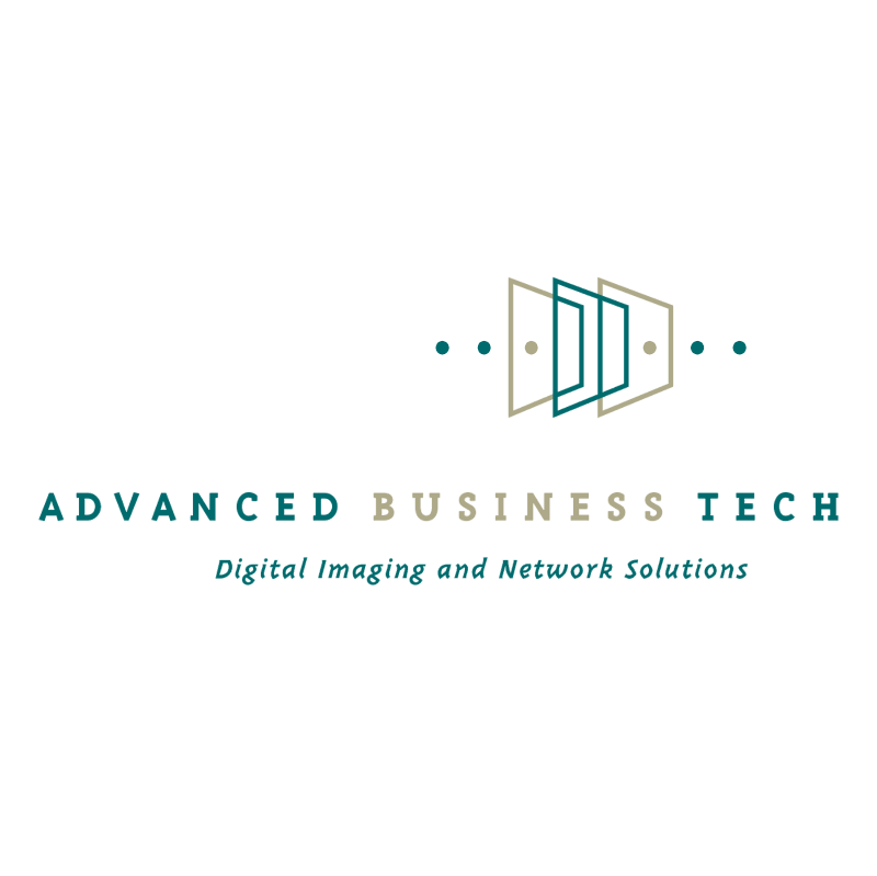 Advanced Business Tech vector logo