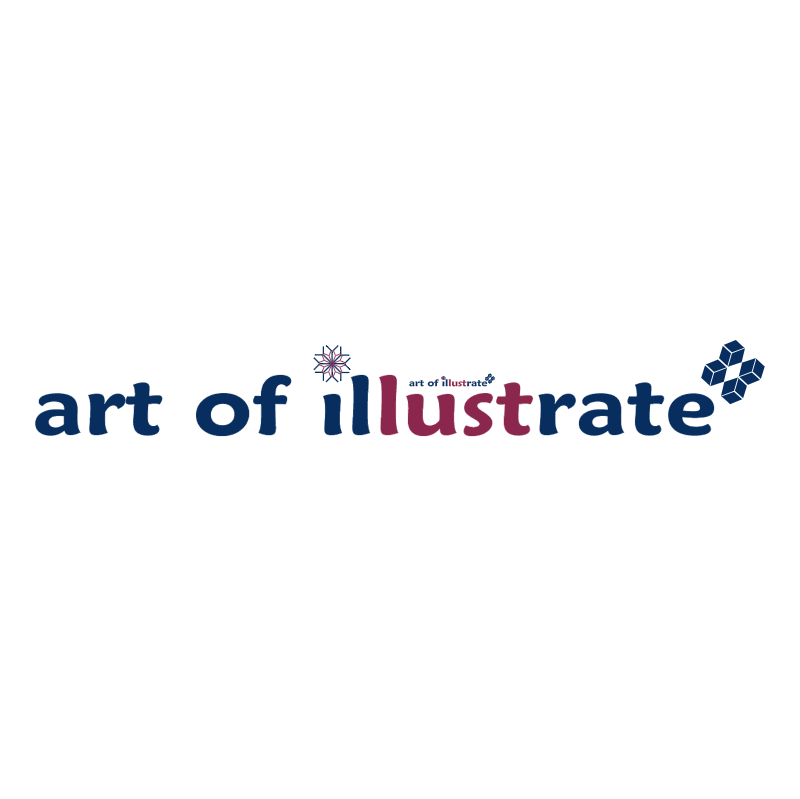 art of illustrate logo