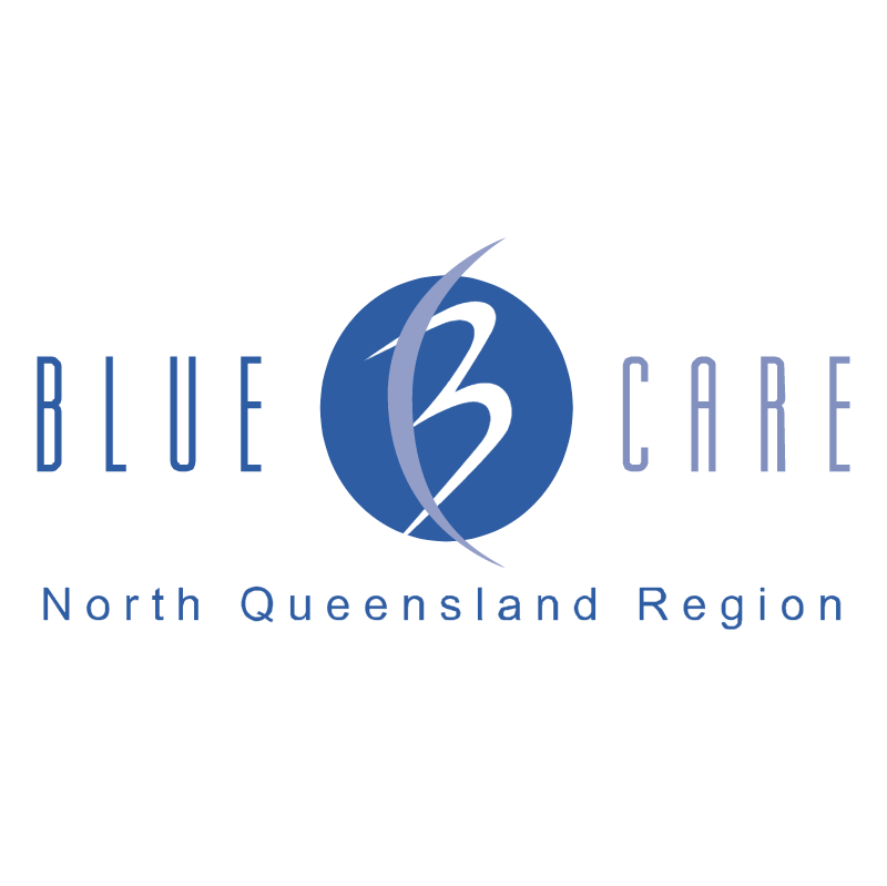Blue Care vector logo