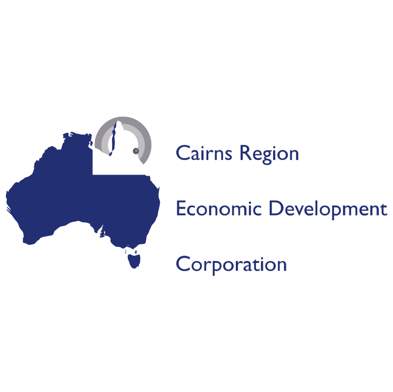 Cairns Region Economic Development vector
