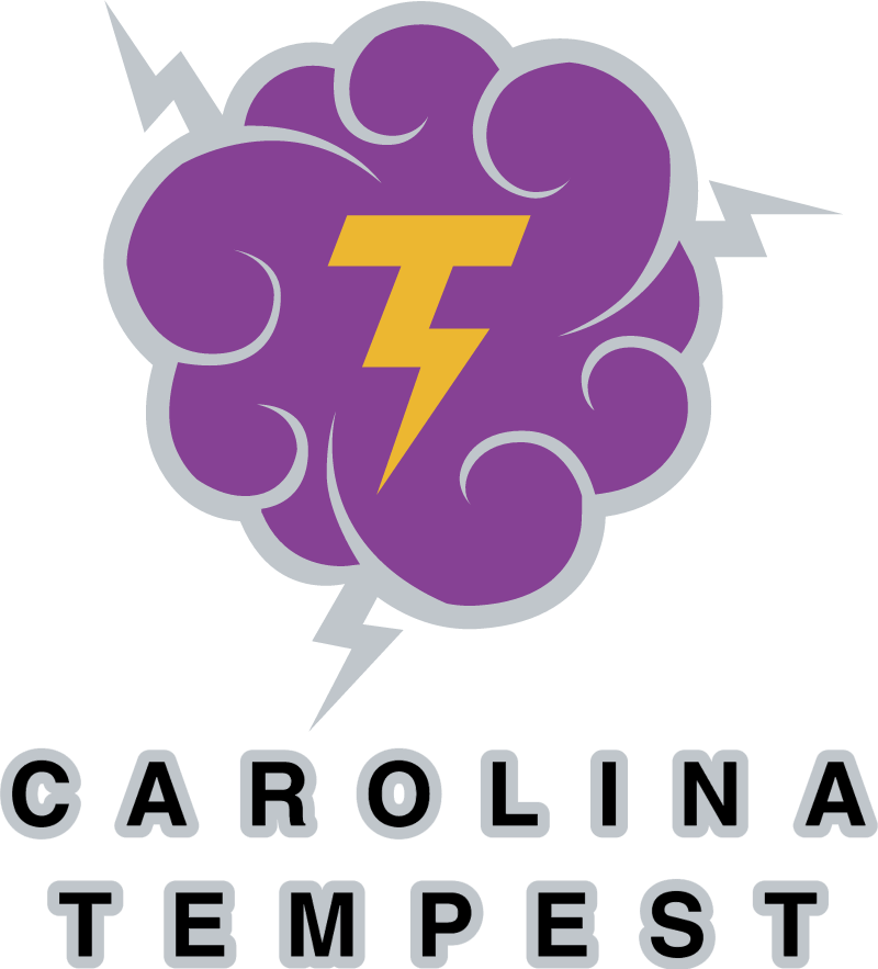 Carolina Tempest vector logo