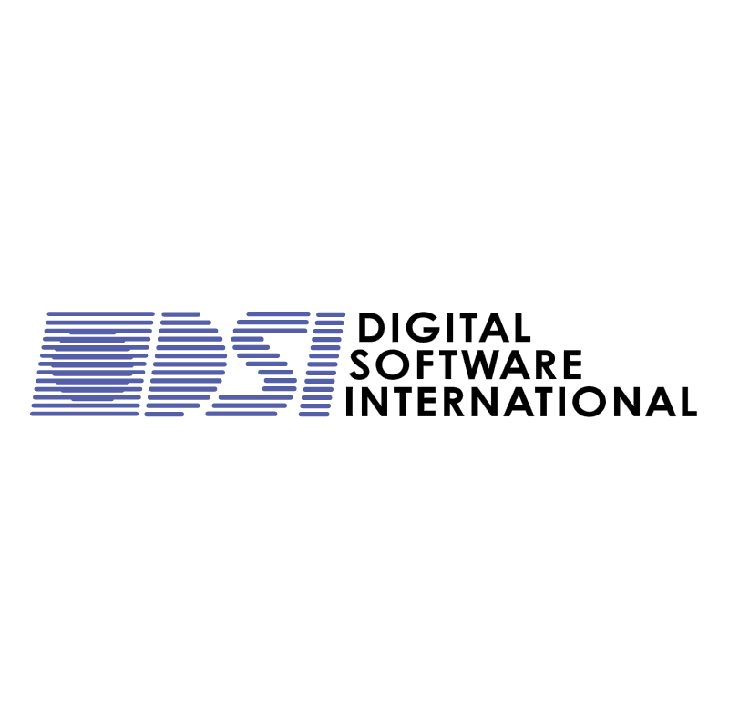 Digital Software International vector
